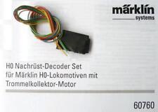 Märklin H0 - Decoder aus 60760 mit Beschreibung NEU