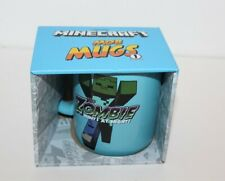 Minecraft Mob Mugs Series 1 The Zombie Coffee Mug Ceramic Mug 2018 Brand New