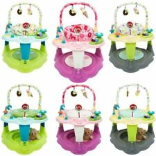 iSafe 2 in 1 Activity Centre Entertainer With 360° Rotating Seat & Play