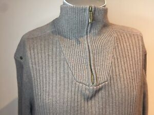 COLORADO Large Zip Men's Pullover Jumper Classic Quality With Some Stretch