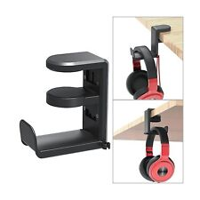 PC Gaming Headset Headphone Hook Holder Hanger Mount, Headphones Stand with A...