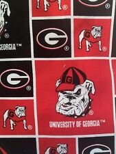 Ostomy Ileostomy Colostomy Urostomy  Pouch Bag Cover Georgia Bulldogs Fabric.