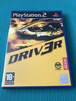 Driv3r (Driver 3) PS2 PlayStation 2 Video Game - Complete- VGC PAL