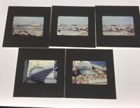 Color Slides Five Royal Caribbean Cruise Vacation 1977 Lot Of 25