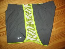 ~Nike~ Dri-Fit Womens Size MD Lined Athletic Shorts ,EUC
