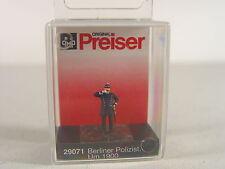 Polizist Berlin um 1900   - Preiser HO Figur 1:87 - 29071  #E