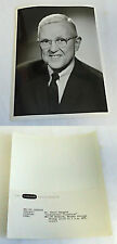 1961 press photo ~ DR. PETER ODEGARD ~ Continental Classroom
