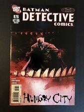 Detective Comics (2011) #876 Jock Cover [NM] Scott Snyder Batman