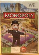 New Sealed Monopoly Wii Game Featuring Classic & World Edition Boards
