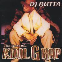DJ BUTTA The Best of KOOL G RAP Rare NYC Hip Hop Mixtape MIX CD Promo