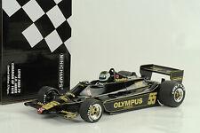 1978 Lotus Ford 79 #55 F1 Canadá GP J.P. Jarier 1:18 Minichamps