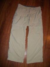 Alpine Design Women's Convertible Pants/Shorts Hiking Camping 100% Nylon Size 8