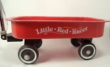 VTG RED RACER Wagon CHROMED NECK WITH BLACK HANDLES