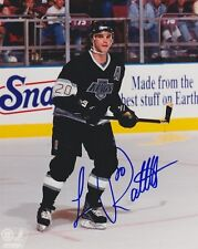 LUC ROBITAILLE Signed LOS ANGELES KINGS 8X10 photo w/COA