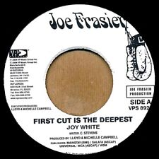 """NEW 7"""" Joy White - First Cut Is The Deepest  /  Bobby Floyd - Save The Last Danc"""