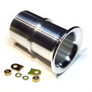 "Trumpet 50mm 2"" Weber 40 DCOE slide in Velocity Stack ALLOY air horn ram pipe"