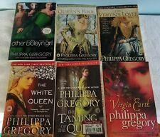 Philippa Gregory Plantagenet & Tudor + Virgin Earth 6 Trade Paperback Lot