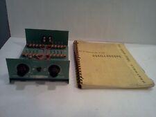 Heathkit Ef 2 Oscilloscope Training Chassis For Ham Radio And Manual Too