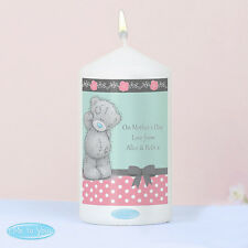 Me To You Personalised Girls Message Candle - Mum, Wife, Daughter, Birthday Gift