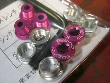 New SUGINO T30 Chainring Bolts PURPLE Alloy Track Single Compl Set, 1 Pc or Tool