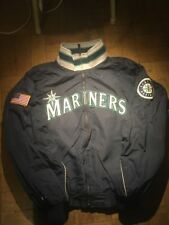 Majestic MLB Authentic Seattle Mariners Winter Jacket Mens XL