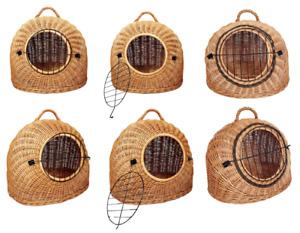 Katzenkorb Weide Transportbox 3 Größen Transportkorb Weidenkorb Höhe Qualität