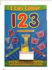 I Can Colour 123 - a fun counting and colouring book