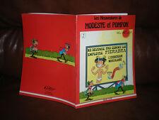 LES MESAVENTURES DE MODESTE ET POMPON N°2 - EDITION ORIGINALE MAGIC STRIP 1980