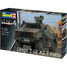 Revell Dingo 2 GE A2.3 PatSi German Transport Model Kit - Scale 1:35 - 03284