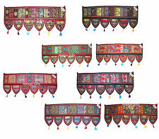 Wholesale Lot Ethnic Home Decor Tapestry Embroidered Garland Door Hanging 25 Pcs