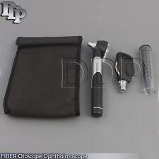 Otoscope Ophthalmoscope Opthalmoscope ENT Diagnostic Examination Set Black