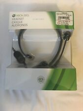 Xbox 360 Official Chat Head Set NEW In Sealed Box.