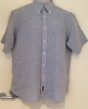 Men's Button-Front Short Sleeve Casual Shirts