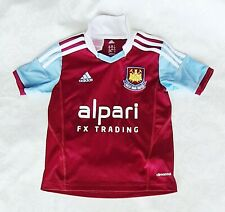 Adidas Climacool West Ham United Kids Shirt Size 6 Years Alpari Football Fan