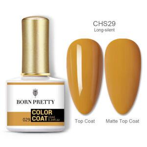 10ml BORN PRETTY 120Colors Soak Off UV Gel Nail Polish Glitter UV LED Nail Art