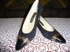 Roland Cartier Black/Gold Petra Shoes - Size 6