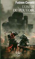 Livre Poche roman historique l'ombre du pouvoir le bâtard de Kosigan 1  book