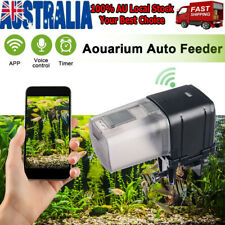WiFi Automatic Fish Food Feeder Pet Feeding Aquarium Tank Pond Dispenser USB