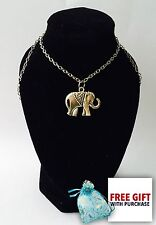 MANDALA ELEPHANT Necklace 26cm NEW Uk Seller