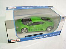 Lamborghini Huracan LP 610-4 Maisto 1:24 Scale Green Diecast Model Car Preowned