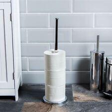 Portarotolo Carta Igienica Cromato Autoportante Negozio Stand By Home Discount