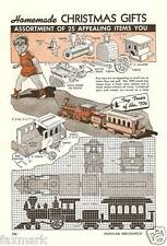 Vintage Plans for Homemade Gifts-Popular Mechanics 1943