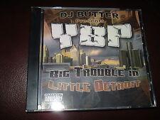 CD DJ BUTTER YBT BIG TROUBLE IN LITTLE DETROIT RARE/M! RAP SLUM VILLAGE MR CLEAN