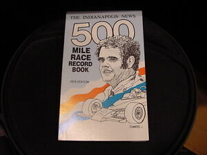 GORGEOUS 1980 Indianapolis 500 Record Book/Media Guide, MINT!!