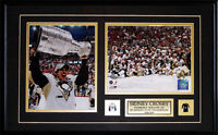 Sidney Crosby Pittsburgh Penguins 2010 Stanley Cup 2 Photo NHL Hockey Frame