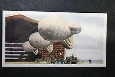 RAF Barrage Balloon Hanger    1930's Original Vintage Card  VGC
