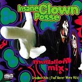 Mutilation Mix [PA] by Insane Clown Posse (CD, Psychopathic Records) NEW/Sealed!
