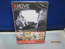 4 Movie Collection HOLLYWOOD HITS *New DVD,Sealed, NBO* Fast Shipping+Tracking