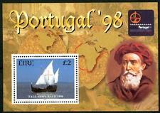 "IRELAND - IRLANDA - BF - 1998 - ""Portugal '98"". Esposizione filatelica Internaz."