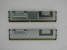 8GB  (2X4GB) DDR2 MEMORY RAM PC2-5300 ECC FBDIMM DIMM QUAD RANK